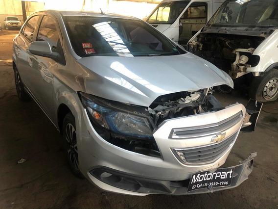 Chevrolet Ónix 1.4 Ltz Chocado Con En Marcha 2014