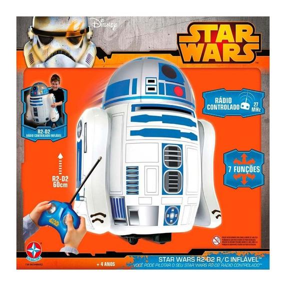 Star Wars R2-d2 R/c Inflável De Controle Remoto 7 Funções