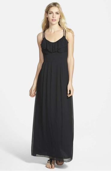 Vestido De Fiesta Importado Usa Jessica Simpson Usado Xxs