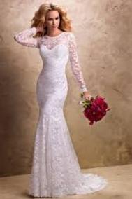 Vestido De Noiva, Casamento, Sereia, Com Bojo E Zíper L069