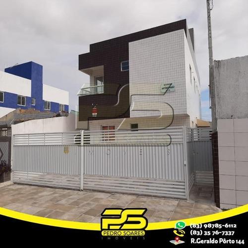 Apartamento Com 2 Dormitórios À Venda, 47 M² Por R$ 138.000,00 - Ernesto Geisel - João Pessoa/pb - Ap2295