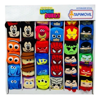 Peluches Kawaii Cubes Peluches Disney Dc Marvel Coleccion