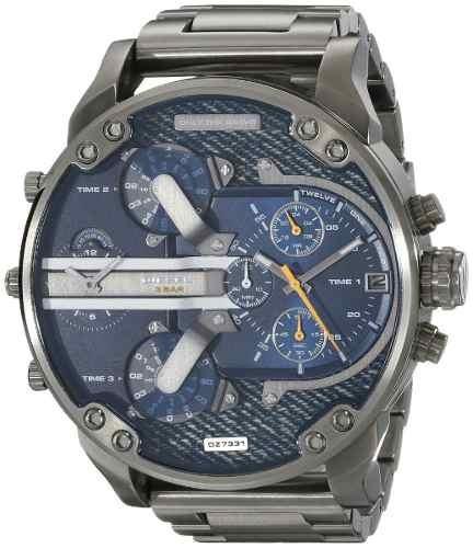 Relógio Diesel Dz7331 Mr. Daddy 2.0 Gun Metal 57 Mm