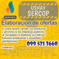 Elaboracion De Ofertas Para Compras Publicas Sercop Ushay
