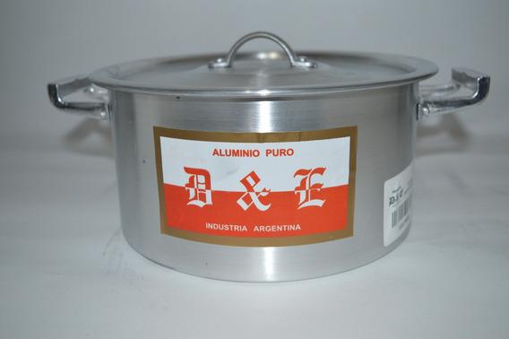 Cacerola Gastronómica 20 3lts Aluminio D&e