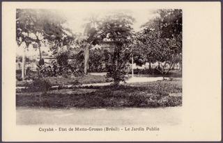 Cuiabá - Jardim Público - Mato Grosso - 17041952