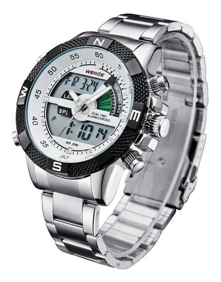 Relógio Masculino Weide Wh-1104 Analógico Pronta Entrega