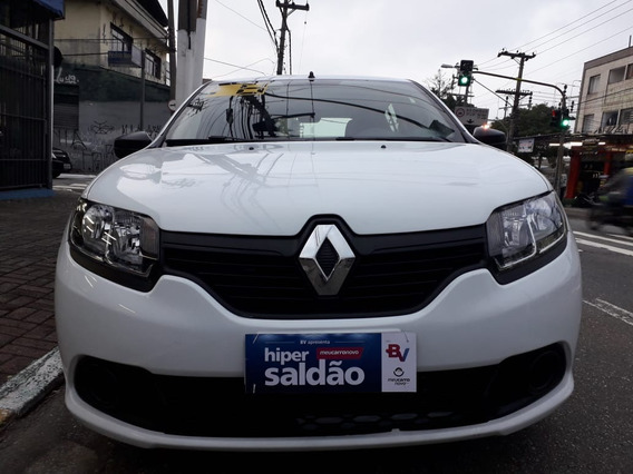 Renault Sandero 2018 1.0 Authentique - Esquina Automoveis