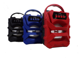 Parlante Portátil Speaker Bluetooth Micro Sd Radio