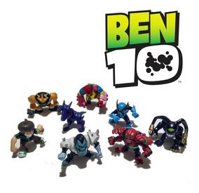 Brinquedo Bonecos Miniaturas Do Ben 10 - Disponível