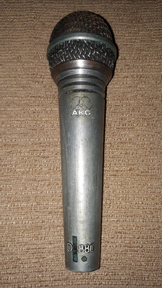 Microfone Dinâmico Akg D880 (raro)