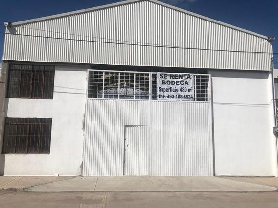 Renta De Bodega Fresnillo, Zacatecas.