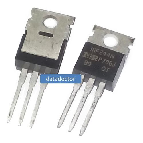 Transistor Mosfet Irfz44n Pack De 2 Unidades