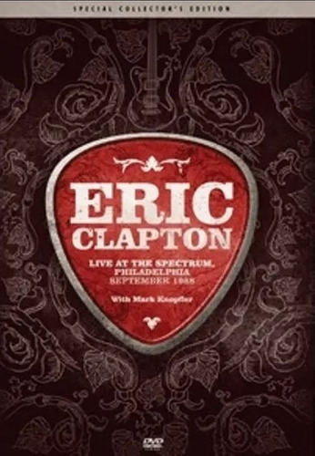 Dvd Eric Clapton - Live At The Spectrum