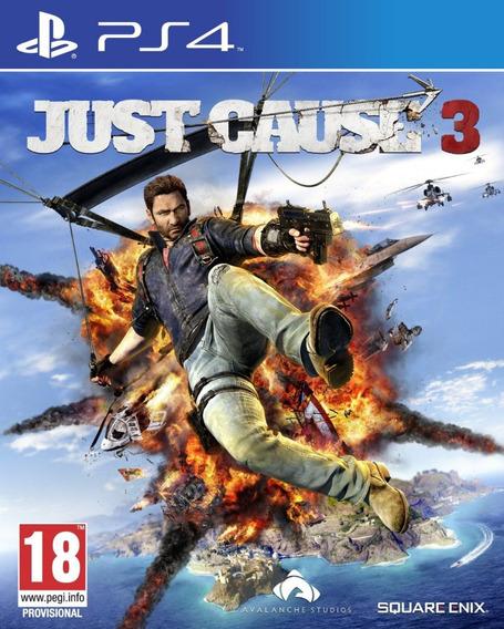 Game Ps4 Just Cause 3 - Original - Novo - Lacrado