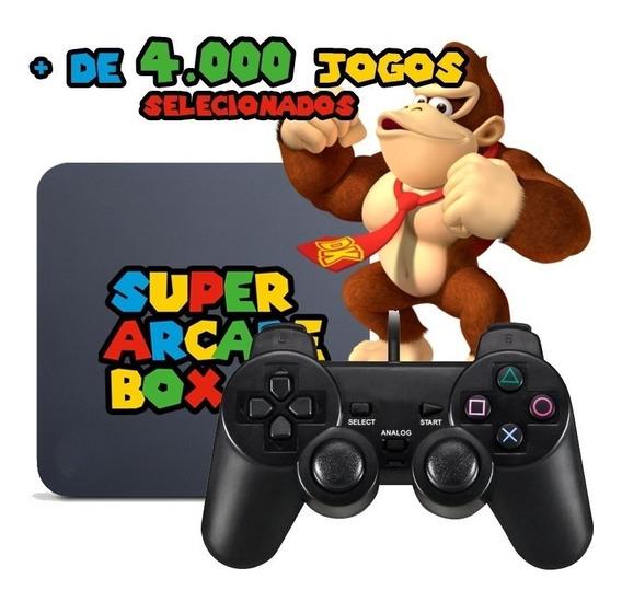 Video Game Retro 4000 Jogos Selecionados Top