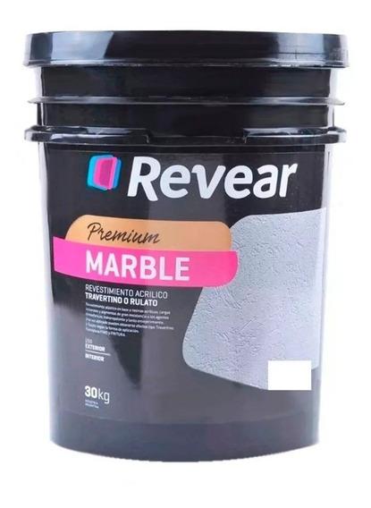 Revear Marble Revestimiento Acrilico Texturado X30kg Pintumm