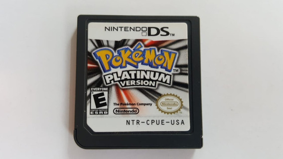 Pokemon Platinum Version - Ds - Original Americano Sem Capa