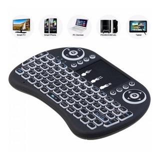 Mini Teclado Inalámbrico Para Smart Tv-pc Touchpad