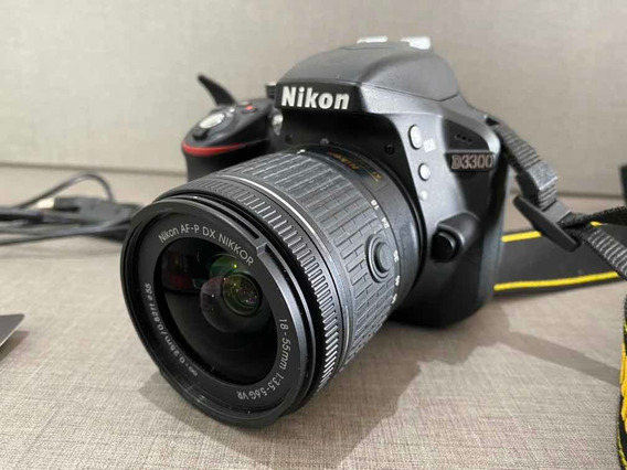 Câmera Nikon D3300 Af-p 18-55 Vr Kit