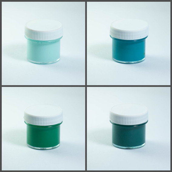 Combo 23 Pigmentos Colorantes Sólidos Para Resinas