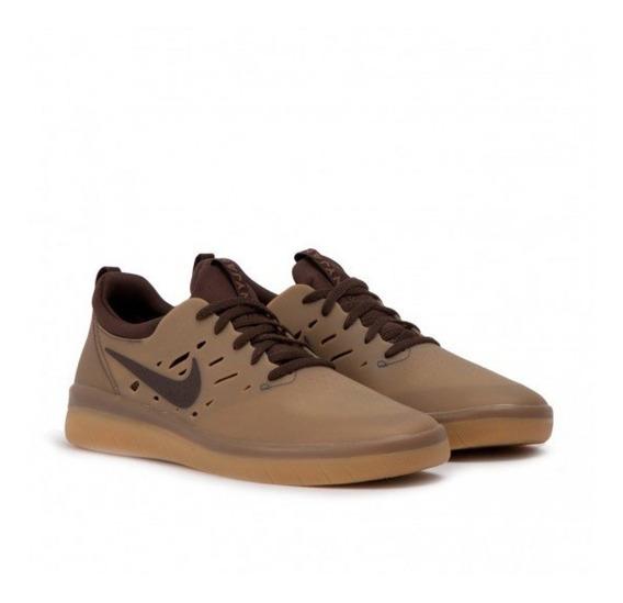Zapatillas Nike Sb Modelo Nyjah Free Marron