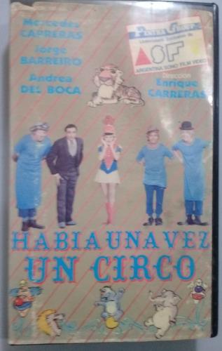 Vhs Habia Una Vez Un Circo