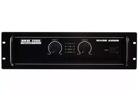 Potencia Mark Audio Mk 2400 400wrms - Bivolt Mk2400