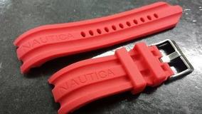 Pulseira Nautica Vermelha 24mm