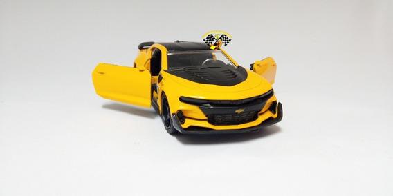 Miniatura Transformers Bumblebee Chevy Camaro 2016 Jada 1/32