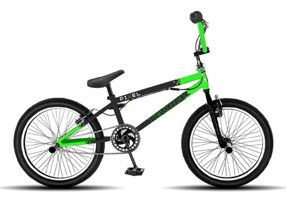 Bicicleta Bmx Freestyle Teknial Pixel Rodado 20.