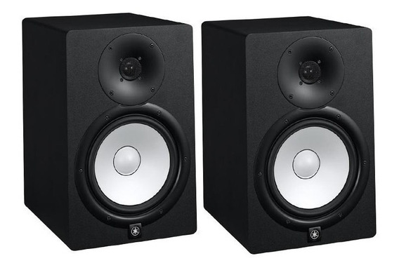 Monitor Studio Profissional Yamaha Hs8 2vias Bass Reflex Par