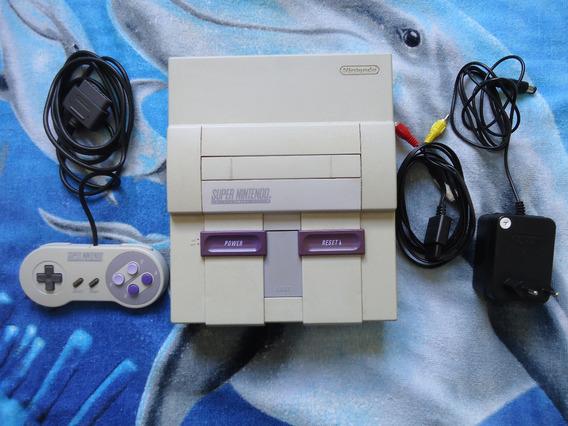 Console Super Nintendo - Fat - Bom Estado