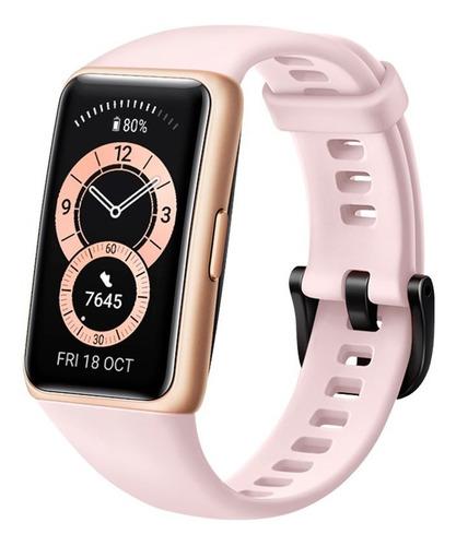 Reloj Inteligente Huawei Band 6, 1.47  Amoled, Rosa
