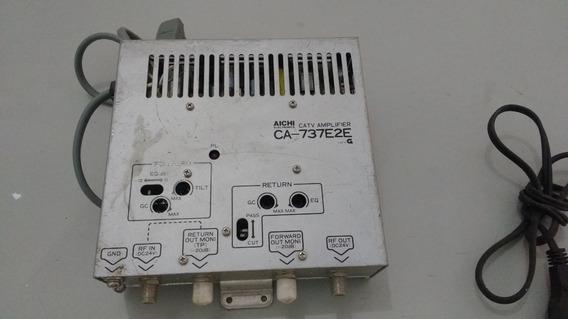 Catv Amplifier Ca- 737e2e Aichi ( Amplficador De Tv)
