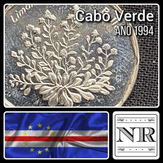Cabo Verde - 20 Escudos - Año 1994 - Km # 33 - Flora