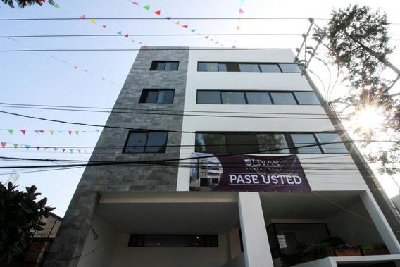 Exclusivo Pent House Av Toluca Con Cercanía A Periférico!!!