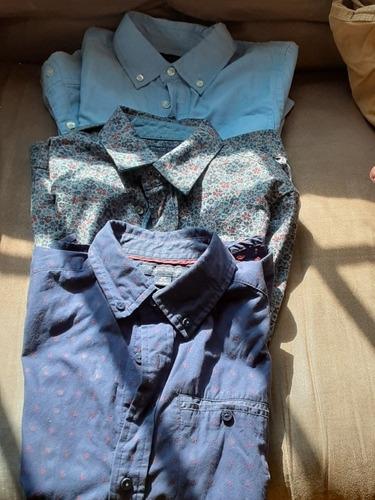 Set De 3 Camisas Tommy Hilfiger Niño.