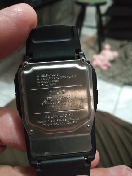 Relógio Casio Calculadora