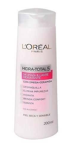 Crema Limpiadora Loreal Hidra Total 5 Piel Seca / Sensible