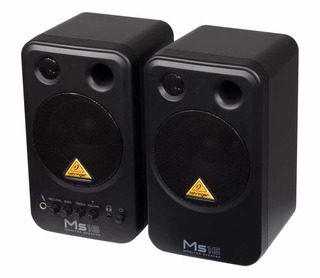 Par Monitores Behringer Ms16 Parlantes Multimedia Ms Monitor