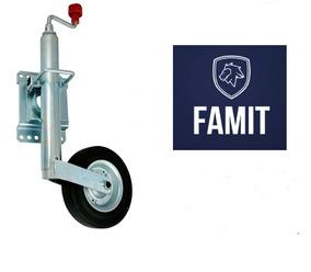 Pedestal Carreta Roda Carretinha Reboque Articulado Famit
