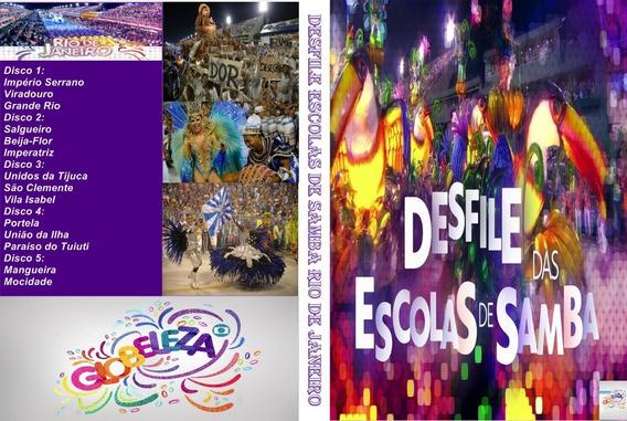 Dvd Desfile Das Escolas De Samba Rio De Janeiro 2019