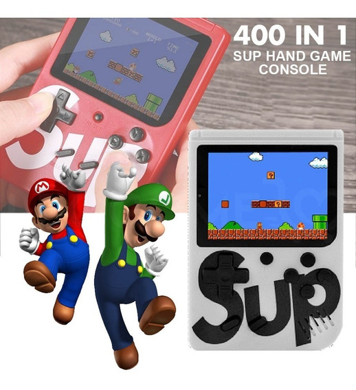 Game Sup 400 Jogos Classicos Retro Adpt Tv Pronta Entrega