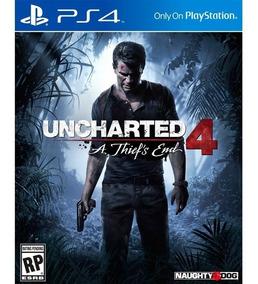 Uncharted 4 Ps4 Playstation 4 Juego Disco Físico Original
