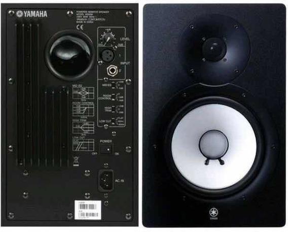 Monitor De Referência Ativo Yamaha Hs 80 (par)