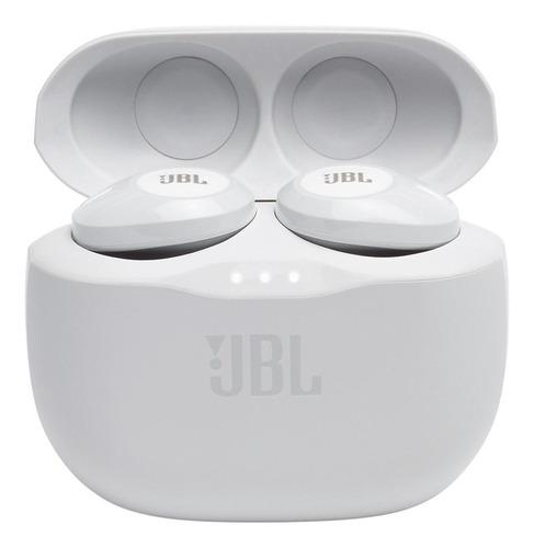 Imagem 1 de 7 de Fone de ouvido in-ear sem fio JBL Tune 125TWS branco