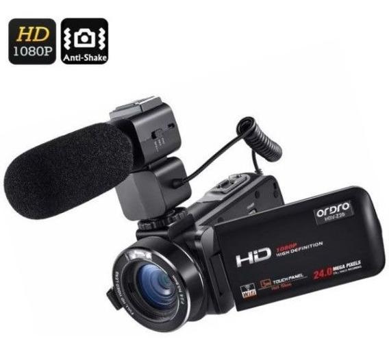 Filmadora Dig Ordro Hdv-z20 Wi-fi Full-hd 24mp Com Microfone