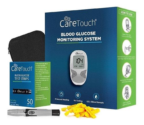 Imagen 1 de 1 de Glucometro Care Touch + 100 Tiras + 100 Lancetas