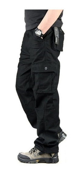 Pantalon Cargo Gabardina Pre Lavada For Men Hard Work